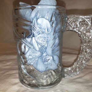 Batman Forever Movie Glass Mug from McDonald's 199